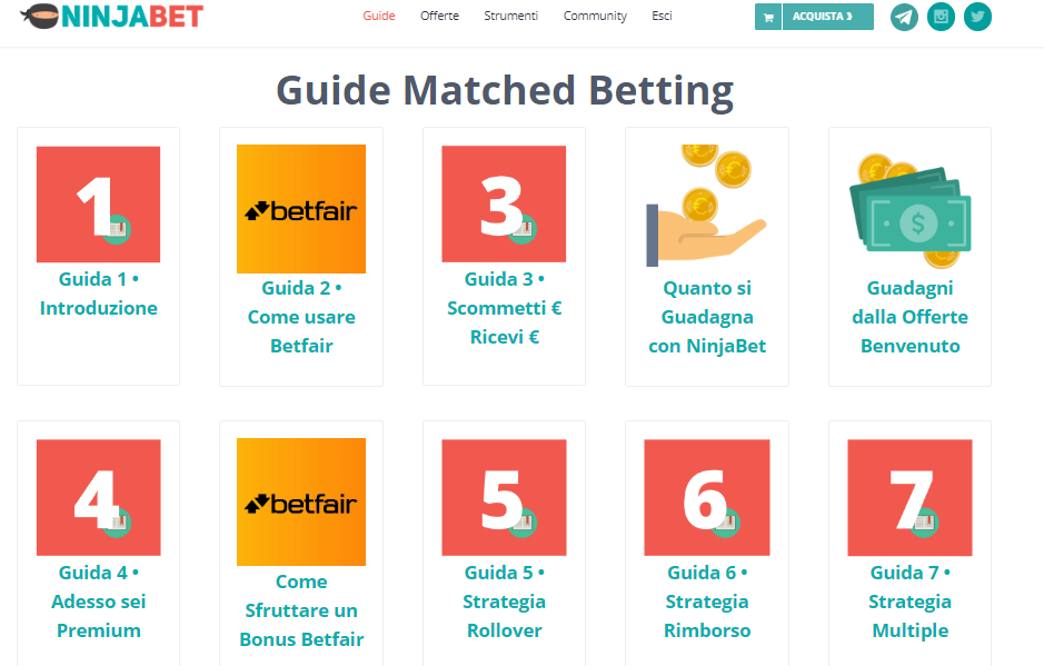guide matched betting