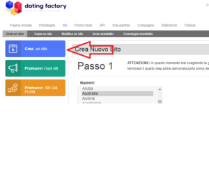 dating factory sito white label