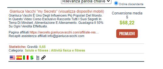 gianluca vacchi clickbank