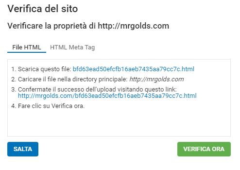 verificare sito su exoclick
